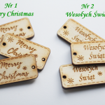 Metka świąteczna do handmade Boże Narodzenie