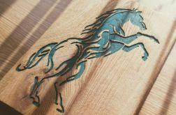 Obraz w Drewnie - Koń