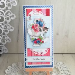 Kartka urodzinowa DL Berrylicious v1 GOTOWA
