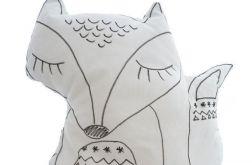 Poduszka śpiący lis