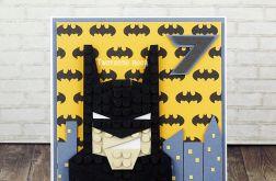 Kartka urodzinowa - Batman Lego