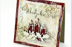Niepowtarzalna kartka na Boże Narodzenie