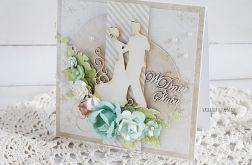 Kartka ślubna w pudełku, 422