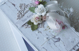 Kartka ślubna w pudełku v.13