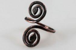 Zawijas - miedziany pierścionek 201018-03