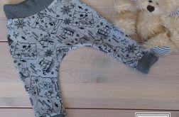 Spodnie dresowe dla malucha 4