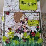 Kartka urodzinowa dla dziewczynki - Komplet na urodziny