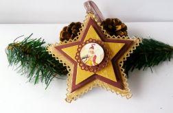 Gwiazdy złoto - brązowe