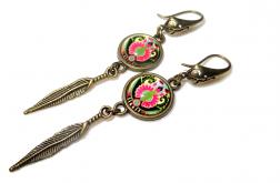 Długie Kolczyki Adela – biżuteria autorska