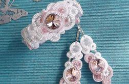 Rivoli Biel & Pudrowy Róż komplet ślubny