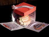 Ślubne pudełeczko z torcikiem
