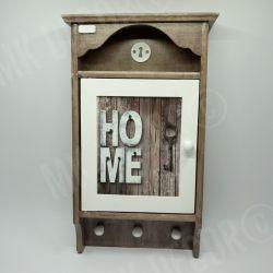 Duża szafka, domek na klucze retro HOME1