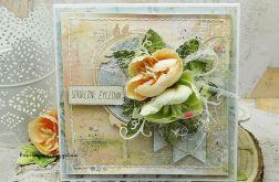 Serdeczne życzenia - kartka w pudełku 2