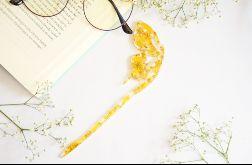 Zakładka do książki motyl - żółty