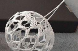 Bombka szydełkowana (12 cm) - wzór nr 4