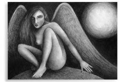 Anioł - plakat A3