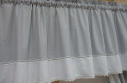 Biało szary lambrekin 250x50 - wz 20