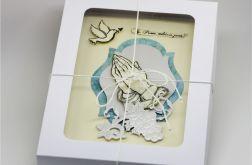 Kartka na Obłóczyny w pudełku