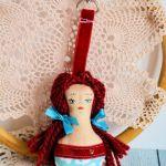 Brelok - Panna Ścinka - ręcznie malowana (3)