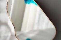 nono lustro akwarela dekoracja ścienna boho