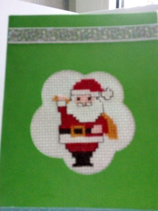 Kartka świąteczna - Mikołaj