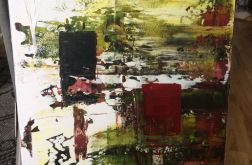 Obraz abstrakcja 40x60