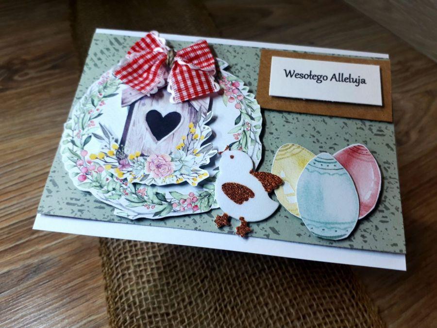 Kartka Wielkanocna #8 -