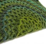 torebka - pieróg w zieleniach