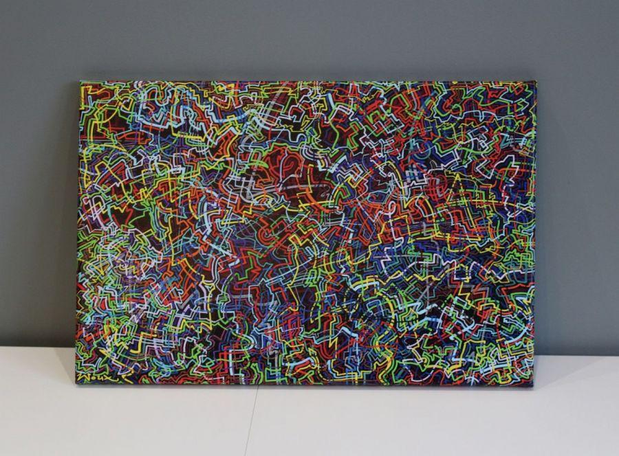 """Obraz """"łAMIEŁUKI 2"""" wydruk na płótnie 40x60cm"""