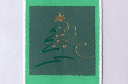 Zielona kartka na Boże Narodzenie