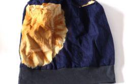 czapka etniczna wiosenna
