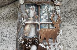 Obrazek świąteczno - zimowy