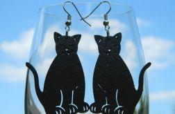 Kolczyki dla Kociary, kolczyki kotki, kot