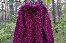 Gruby sweter oversize
