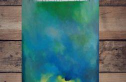 Drzewa-obraz akrylowy formatu 50/100 cm