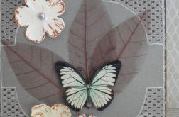 Skrzydła motyla - kartka