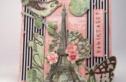 """Kartka """"Paryż"""""""