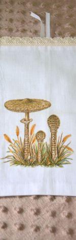 woreczek na suszone grzyby - kania