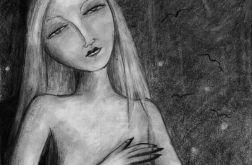 Cienie - oryginalny rysunek 9802