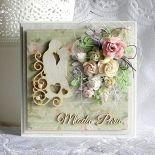 Kartka ślubna - Młoda Para
