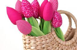 TULIPANY, różowy bukiet