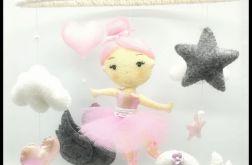 Karuzelka nad łóżeczko, balerina