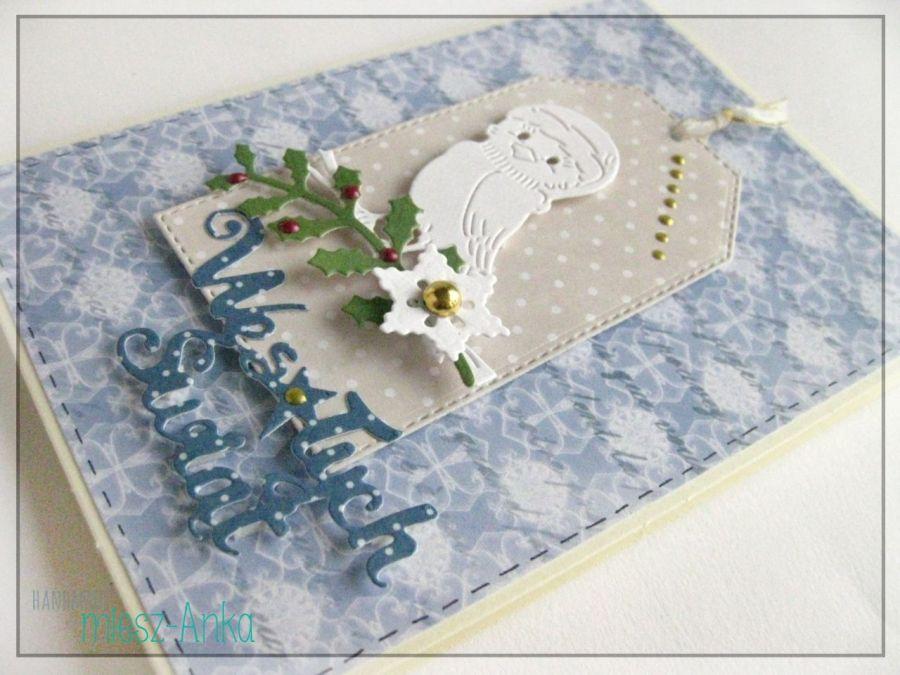Wyjątkowa KARTKA ŚWIĄTECZNA - 13 - Boże Narodzenie, kartka, świąteczna