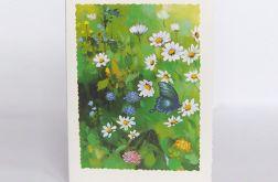Kartka uniwersalna z motylkiem - 2