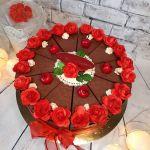 Tort papierowy na urodziny -