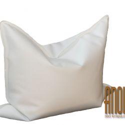 Pufa typu Beanbag biała