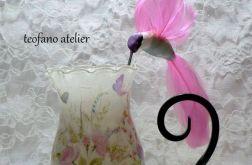 Lampion z kolibrem