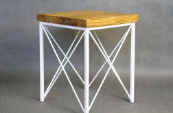 Stolik nocny LARS NEXT dębowy stolik 40x40cm