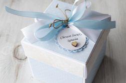 Pudełko - kartka - exploding box - Chrzest