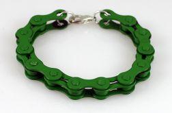 Rowerowa zieleń - bransoletka